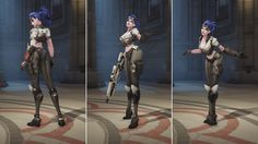 Here's my very small contribution to our newest event : Overwatch's uprising! :) I had the pleasure to work on the widowmaker Talon skin. Additional credits :  Concept by Arnold Tsang Gun by outsourcing Rigging by Dylan Jones  Animation and pose by our talented animation team