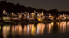Boathouse Row - row2k Rowing Picture of the Day