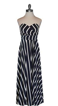 Infinity Wrap Maxi Dress