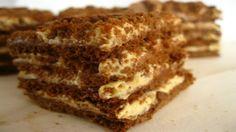 Luxusní kakaový medovník chutná mnohem lépe než ten kupovaný!   Milujeme recepty