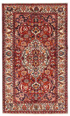 Bakhtiar-matto 160x265, nykyaika, 12 mm