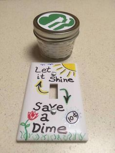 Household elf badge: air freshener, etc Bought the small mason jars at Hobby…