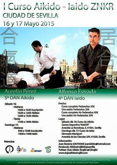 KARATE DAVID: I Curso Aikido - Iaido Ciudad de Sevilla