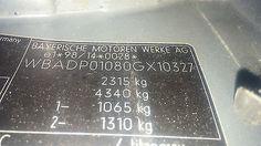 BMW E39 TOURING 525d SCHLACHTFEST - BAK$ KFZ Teile Online Shop