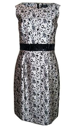 Tahari By ASL Belinda Black Dress 8 >>> For more information, visit image link. (This is an affiliate link and I receive a commission for the sales)