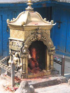 A Shrine for Ganesh