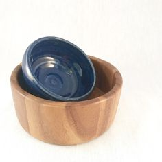 Small Mid-century Modern wood bowl