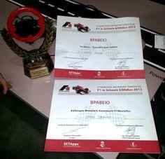 Materealise sponsored F1 racing team ranks #1
