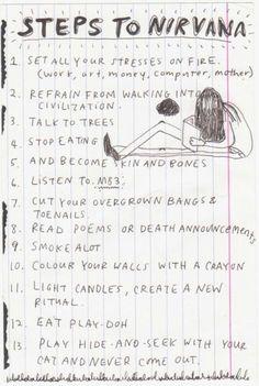 From Kurt's Journals. <3 Oh, Kurt. c':