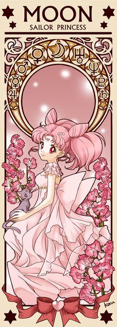 Princess Small Lady Serenity By Tsuki-kioku. Sailor Moon