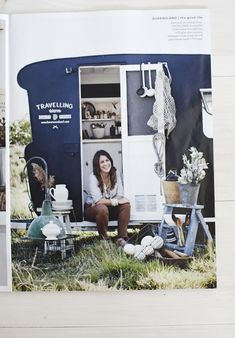 caravan design 232146555768353727 - Kara and Frankie the caravan with beautiful vintage homewares ready for the markets. Featured in Country Style Magazine Australia Styled by ©Kara Rosenlund Source by eringoodman Caravan Shop, Retro Caravan, Camper Caravan, Caravan Ideas, Camper Life, Camper Van, Glamping, Vw Camping, Camping Ideas