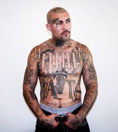 Cholo Tattoo, Tattoo Mafia, Chicano Tattoos, Body Art Tattoos, Girl Tattoos, Sexy Tattoos, Tattoos For Guys, Torso Tattoos, Tattoo Thigh