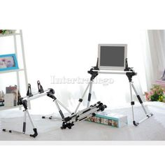 Foldable Desk Floor Stand Bed Tablet PC Holder Mount for Cell Phone iPad