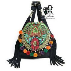Rejoicy - Original national wind handmade embroidered bag canvas bag Cheap  Handbags 1052b6e5b7261