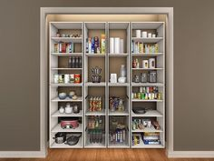 Kitchen Closet Pantry Ideas - mybbstar.com