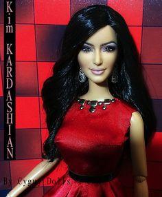 kim kardashian dolls by cyguy dolls on ebay | Flickr: Cyguydolls' Photostream