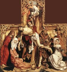 Master of the Saint Bartholomew Altarpiece - The Descent from the Cross. 1500 - 1505