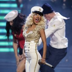 In the nearly 20 years since Christina Aguilera began taking the music industry by storm, fans have seen the pop star's style, persona, and sound go through a lot of changes — and nothing indicates this evolution than her videos. Each of Christina… Christina Aguilera Burlesque, Celebrity Moms, Celebrity Style, Popsugar, Girl Outfits, Cute Outfits, Women In Music, Wedding Dresses For Girls, Style
