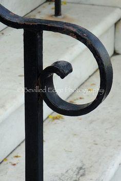 Dit is een zijkant van een hekje in de vorm van een P