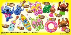 Re-Ment Stitch Hawaii charm blind packet 4