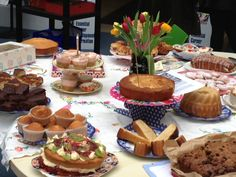 Images of Tea tables laid for a party | Victorian Tea Party | Journal of Victorian Culture Online
