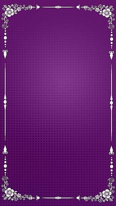 Purple background pattern frame h5 Banner Background Images, Studio Background Images, Invitation Background, Wedding Background, Background Patterns, Textured Background, Frame Background, Vector Background, Flowery Wallpaper