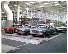 GM dyno test - Possibly Fremont assembly plant as they built all four GM A body brands in 1964