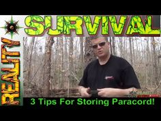 Paracord Tip - 3 Quick Survival Tips For Storing Paracord