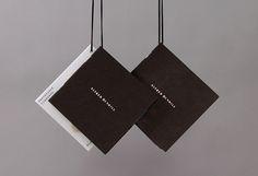 정사각형 타입 Alfred Dunhill label by…