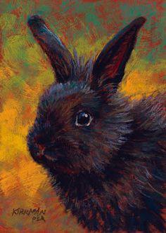 Rita Kirkman's Daily Paintings: Shadow Bubba