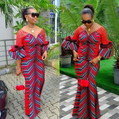 Latest Ankara long Gown Styles 2019: Dressed for Next Occasion -  DeZango  FacebookTwitterWhatsAppAddThis