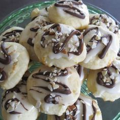 Yum! I'd Pinch That | Ricotta Orange Cookies with Dark Chocolate & Hazelnuts #recipe