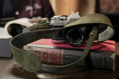 A7 - A7NYC - The Original Camera Strap II - Two Tone Edition - Soft Olive