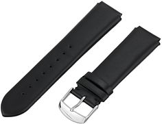 Philip Stein 1-CIMB 18mm Leather Calfskin Black Watch Strap * Click image to review more details.