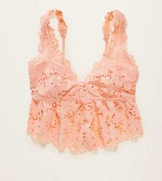 Aerie Lace Flounce Bralette.  When you're ready to take the plunge! #Aerie