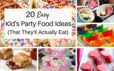 20 Easy Kids Party Food Ideas (That They'll Actually Eat)