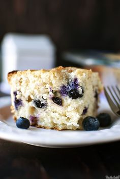 Blueberry Buttermilk Breakfast Cake - I'd swap out the blueberries for blackberries, and bake on the grill in cast iron.