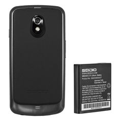 Seidio BACY38SSGNLN-BK Innocell 3800mAh Super Extended Life Battery for Use with Samsung Galaxy Nexus LTE with NFC - Retail Packaging - Black