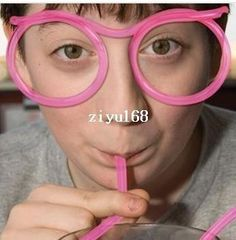 Creative Glasses Shape Drinking Straw! ! Fat Drinking Straws Flavored Drinking Straws From Yiyu_hg, $11.98| Dhgate.Com Party Jokes, Practical Jokes, Novelty Items, Party Accessories, Eyeglasses, Flexibility, Party Supplies, Drinking, Shapes