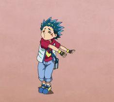 Valt Aoi Gif Beyblade Burst ; ♡⋆.ೃ࿔*💖; ♡⋆.ೃ࿔*💖; ♡⋆.ೃ࿔* Beyblade Characters, Anime Characters, Titans Anime, My Little Witch Academia, Funny Animal Jokes, Let It Rip, Beyblade Burst, Haikyuu Anime, Love Is Free