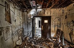 Modern Ruins - The Spectacular Decay of Mare Island by Tim Fleming, via Behance
