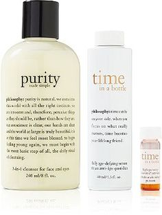 Philosophy Online Only Time In a Bottle & Purity Duo Ulta.com - Cosmetics, Fragrance, Salon and Beauty Gifts