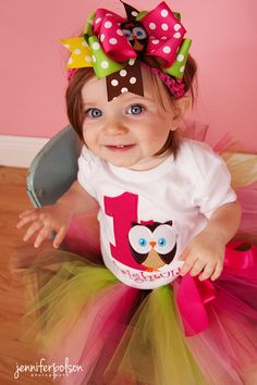 Hey, I found this really awesome Etsy listing at http://www.etsy.com/listing/83944833/whoos-one-owl-tutu-oufit