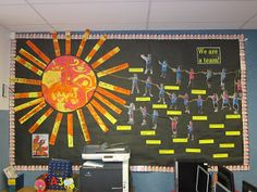 We have been reading the book Maui and the sun. It's about how Maui and his brothers work as a team to slow down the sun so that everyone c. Classroom Wall Displays, Class Displays, Classroom Organisation, Classroom Walls, Classroom Ideas, Sun Activity, Maori Legends, Early Childhood Activities, Childhood Education