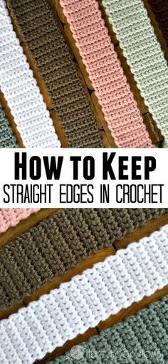New to crochet? Keeping straight edges in crochet is easier than you think. It all depends on one little difference, let me show you my trick!