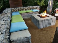custom propane fire pit   ... custom fire pit installation. This was a propane drop-in fire pit