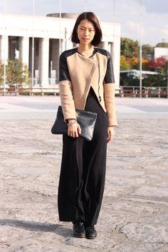 Street style en Seul: vestido de Lap y chaqueta de Zara | Galería de fotos 2 de 22 | Vogue