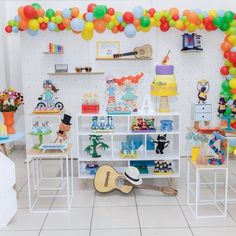 1st Birthday Parties, Musicals, Balloons, Tropical, Photo And Video, Party, Organization, Instagram, Home Decor