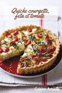 Découvrez vite cette recette. Quiches, Vegetable Pizza, Vegetables, Food, Savoury Tarts, Cooking Recipes, Essen, Vegetable Recipes, Meals