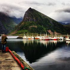 Fredvang, Lofoten, Norway.